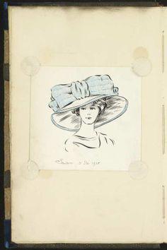 Chapeau, HIVER 1911 © Patrimoine Lanvin. #Lanvin125