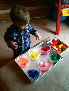 For the Love of Learning: DIY Color Recognition  Sorting Learning Activities