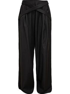 J.W. ANDERSON Classic Wide Leg Wool Trousers
