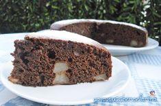Torta cioccolato e pere soffice