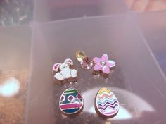 Set of Floating Charms-Easter Bunny Floating by CharmedHeartz