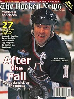 affb27418c2 1998-99 The Hockey News Yearbook- Mark Messier Cover Mark Messier