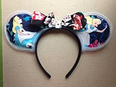 Alice in Wonderland Mickey Mouse Ears