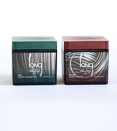 Heal Mask for Damaged Hair (Green) & Nourish Mask for Dry Hair ( Red)