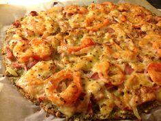 Heimelaga, sunn pizza - to pizzabunner uten heving (Linda Stuhaug)