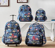 Mackenzie Blue Multicolor Dino Backpack. Kids Backpack BoysToddler BackpackPottery  Barn ... 2856121de2052