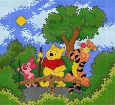 Winnie the Pooh, Tigger and Piglet (for childrens, story)