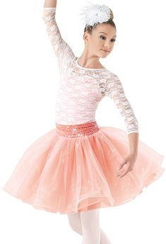 Weissman™ | Lace Sequin Curly Glitter Tulle Dress