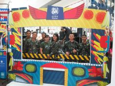 Philippine Airforce at the Jeep Selfie Frame! :)