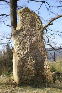 http://fibacz.deviantart.com/art/Rune-Stones-Germania-53303280  #stone #rock #carved #runes