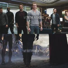 I love them My heroes Endgame was a emotional rollercoaster. Avengers Quotes, Avengers Imagines, Marvel Quotes, Marvel Memes, Marvel Avengers, Marvel Comics, We Have A Hulk, Avengers Pictures, Avengers Wallpaper