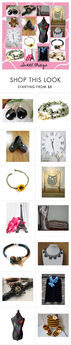 """""""Sweet things"""" by penandhook ❤ liked on Polyvore"""