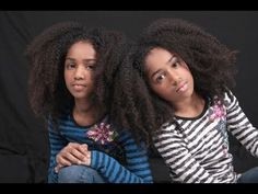 How beautiful is this! twins Imani and Nia Lindsay have been accepted to The American Ballet Theatre's prestigious summer program on scholarship. The girls started walking at just… Girls Natural Hairstyles, Cute Hairstyles, Natural Girls, Black Twins, Black Girls, Natural Hair Care, Natural Hair Styles, Black Dancers, Big Afro