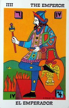 The Emperor - Tarot Balbi