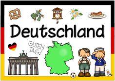 Neue Länderplakate (Deutschland, Irland, Neuseeland) Die nächsten Länderplakate sind fertig. Das Deutschlandplakat gibt es in mehreren Va... World Geography, Teaching Materials, Sight Words, Kids Education, Primary School, Classroom Management, Diy For Kids, Kids Learning, Kindergarten