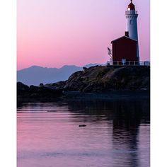 A tranquil morning at the Fisgard Lighthouse in Victoria.   Photo: @reubenkrabbe via Instagram #exploreBC #exploreCanada