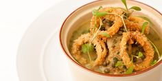 This brilliant mulligatawny recipe from Marcus Wareing uses tender quail meat along with the flavoursome soup. Combined with onion rings, this is a cosy dish.