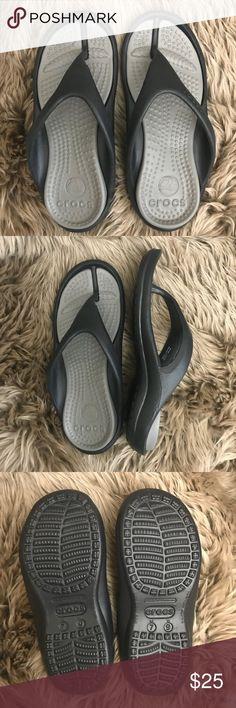 aa17e98a146 Crocs Men s (Unisex) Athens Flip New with tag Crocs Unisex Coast Clog Black  size