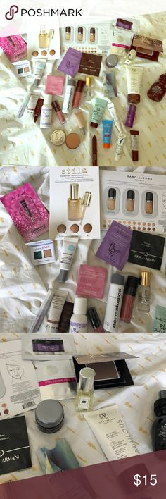 Ultimate Birchbox hair & makeup sample lot! Jackpot! This is literally 6+ months worth of Birchbox goodies with additional samples on top of that. Lot includes 30+ samples of various designer hair and make up samples and all are unused. Includes Stila, Marc Jacobs, NARS, Bumble and Bee, Jo Malone, YSL, Aveda, Too Faced, and the list goes on and on. I did my best to take up close shots of all product so you can see everything included. Check out my other make up and beauty listings as well…