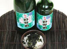 福井海産もみわかめ(粉わかめ)・4合瓶入