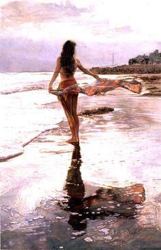 Steve Hanks - Watercolor