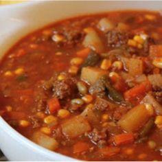 Slow Cooker Hamburger Stew Recipe – 3 SmartPoints   Weight Watchers Recipes