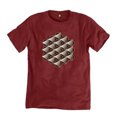 Men's Octahedron Organic Cotton T-shirt