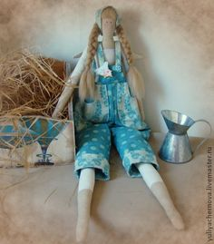 Tilda dolls handmade.  Fair Masters - handmade angel garden.  Handmade.