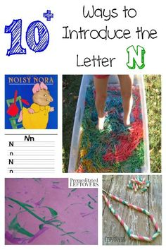 If you are looking for ways to introduce the letter N to your child, here are some fun crafts, printables, recipes and activities you can try.