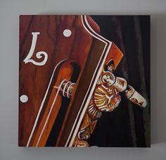 Original artwork by Cynthia Woods, Lichty Guitar headstock