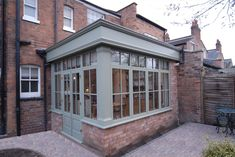 Image 89 - This Hardwood Orangery made a great extension to the house by adding a new dining area to new kitchen design Orangerie Extension, Orangery Extension Kitchen, Kitchen Orangery, Orangery Conservatory, Small Conservatory, Conservatory Dining Room, Conservatory Extension, Cottage Extension, House Extension Design