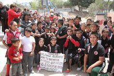 NOTILIBRE TIJUANA, por la libertad de informar.: LIDER SOCIAL ARACELY DE LA O. FESTEJA A LOS NIÑOS ...