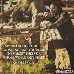 Black Sails Vane, Black Sails Starz, Tv Quotes, Movie Quotes, Qoutes, Series Movies, Movies And Tv Shows, Charles Vane, Golden Age Of Piracy