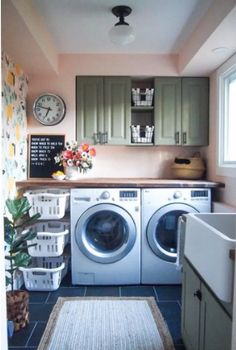Below are the Farmhouse Laundry Room Storage Decoration Ideas. This post about Farmhouse Laundry Room Storage Decoration Ideas was posted … Laundry Room Remodel, Laundry Room Cabinets, Laundry Room Organization, Laundry Storage, Small Storage, Closet Storage, Diy Storage, Kitchen Storage, Storage Ideas