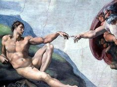 Michelangelo  ...  This is one of my favorites  of his materpieces!