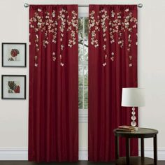 living room curtains and drapes ideas t red eyelet. white beige and ...
