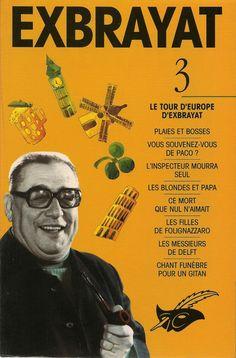 Les Intégrales du Masque - Charles Exbrayat - Volume 3 - Recto - Septembre 1993
