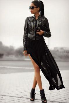 28 Trendy Long Skirt -totally love that one!