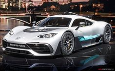 Leak: Mercedes-AMG Project One Grins For The Camera in Frankfurt Mercedes Amg, Gt R, Luxury Hybrid Cars, Luxury Cars, Most Expensive Car, Car In The World, Car Ins, Car Show, Sport Cars