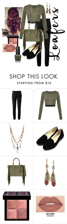 """""""Going Out"""" by bigskydreams ❤ liked on Polyvore featuring Retrò, Chloé, Betsey Johnson, Diane Von Furstenberg, Givenchy, Smashbox and OPI"""