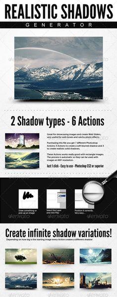 Realistic Web Shadow Generator - Shadows Action