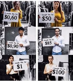 "In the web series ""Sweatshop,"" three fast fashion consumers visited a Cambodian garment factory for one month to learn about the true cost of cheap clothing. Photo credit: The Plaid Zebra Fast Fashion, Slow Fashion, Cheap Fashion, Modest Fashion, True Cost, Intersectional Feminism, Equal Rights, Consumerism, Faith In Humanity"