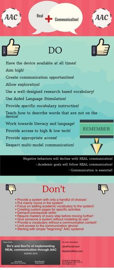 REAL Communication with AAC