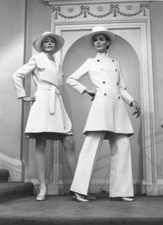Christian Dior present their Spring Collection show in London, 1970