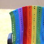 Rainbow Heart Blanket Update - The Crafty Mummy