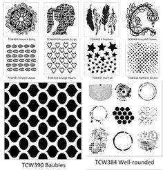Lots of new Balzer Designs stencils! Stencil Patterns, Stencil Art, Stencil Designs, Print Patterns, Stencils, Art Journal Pages, Art Journals, Artist Project, Art Journal Tutorial