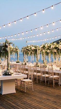 Sifnos destination wedding Luxury Wedding, Destination Wedding, Summer Wedding, Lush, Greece, Floral Design, Island, Weddings, Table Decorations