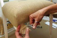 Cómo tapizar una silla, paso a paso