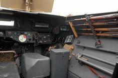 Sdkfz 251 ausf A. Compartiment avant du véhicule.