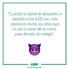 Y así sabrás que la deuda estará saldada 😈😈 #HSMBlog #happysloppymom #momblog #instablogger #mamabloguera #blogger #venezuela #caracas #familia #love #maternidad #momjoke #dadjoke #joke #chistes #emoji